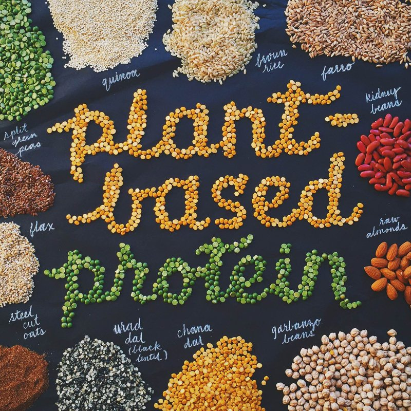 Pick plant-based protein sources, particularly legumes.
