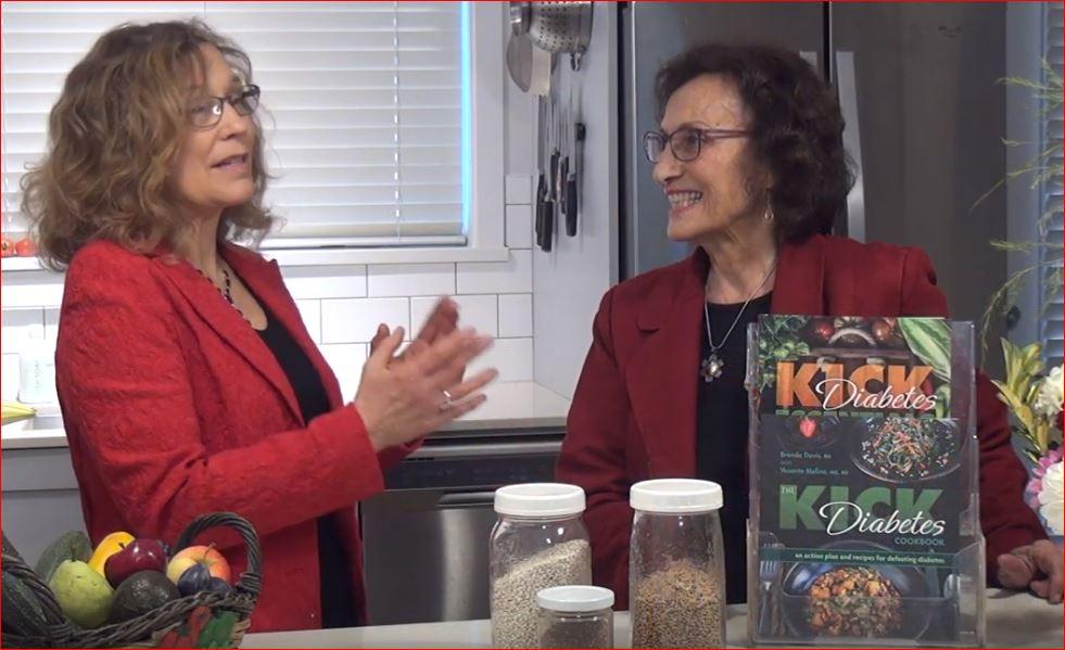 The Kick Diabetes Cookbook -  Brenda Davis and Vesanto Melina